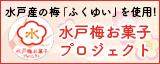 水戸梅お菓子プロジェクト
